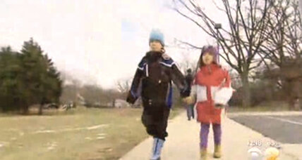 Maryland detains 'free-range' kids: how walk to playground became so fraught (+video)
