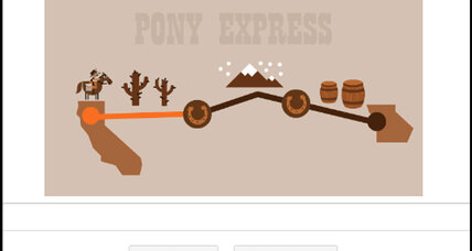 Why the Google Doodle is honoring the Pony Express