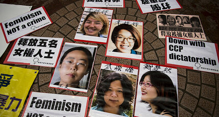 Why did China just release five feminist activists?