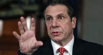 Andrew Cuomo's tax return shows his income topped $550,000