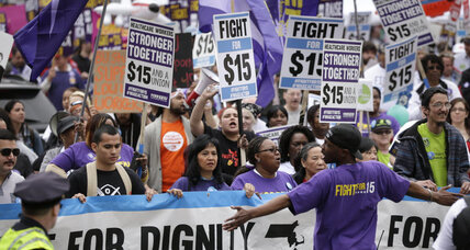 'Fight for $15' protests: why they're about more than fast-food wages