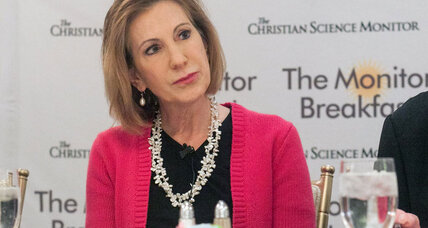Carly Fiorina wants to take away Hillary Clinton's 'gender card'
