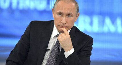 Putin upbeat on Russian recovery, but doth he protest too much?