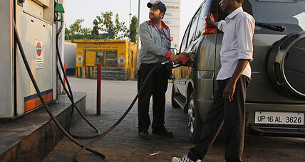 India is reaping the rewards of cheap oil