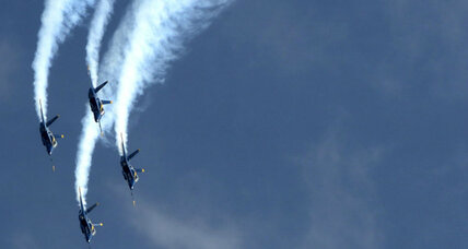 First female Blue Angel pilot taking flight (+video)