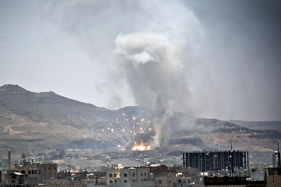 Saudi Arabia resumes airstrikes in Yemen, hours after suspending them -  CSMonitor.com