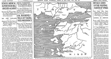 From the Monitor Archives: Invasion of Gallipoli begins in WWI