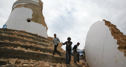 Why Nepal gets such big earthquakes
