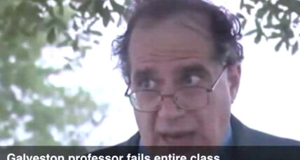 Texas A&M professor fails entire class: Is this a millennials problem? (+video)