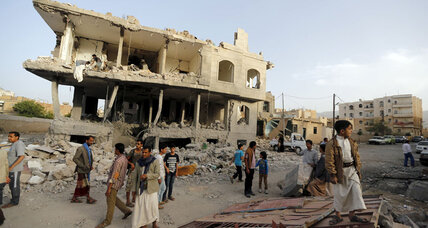 Exiled Yemeni government rejects calls for peace talks as airstrikes continue