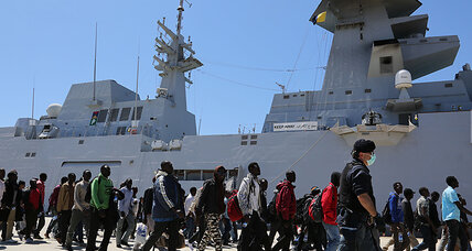 Could military action help solve Europe's Mediterranean refugee crisis? (+video)