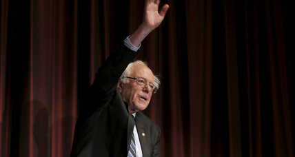 Will Bernie Sanders nudge Hillary Clinton to the left? (+video)