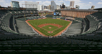Baltimore Orioles play to a crowd of ... zero? (+video)