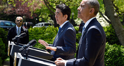 Will Shinzo Abe's historic US speech drown out Japan's war denials?