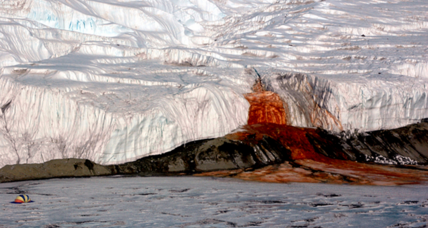 Scientists discover source of Antarctica's mysterious Blood Falls