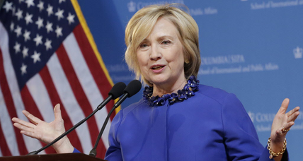Is Hillary Clinton backing off her husband's legacy on crime? (+video)