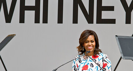 Why Michelle Obama 'fell in love' with new Whitney Museum