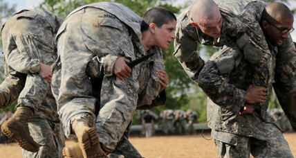 Breaking military's ultimate glass ceiling? Women start Ranger training.
