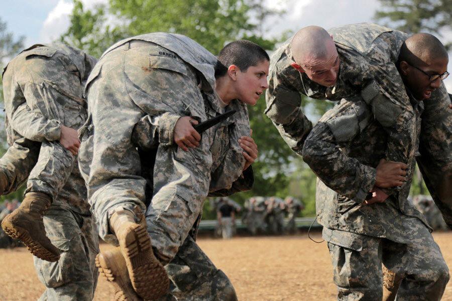 Breaking military's ultimate glass ceiling? Women start Ranger training.