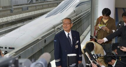 Japanese train sets world speed record, but is it a smart investment? (+video)