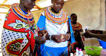 Kenyan women make a healthy profit selling aloe to cosmetics firm