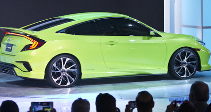 'Dynamic' new Honda Civic debuts at 2015 New York Auto Show