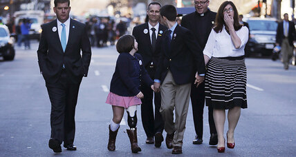Why parents of Marathon bombing victim say no to death penalty (+video)
