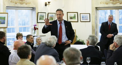Martin O'Malley attacks Hillary Clinton! Uh, really?