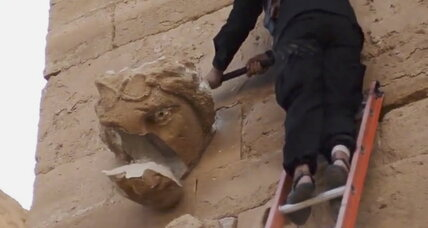 Video shows Islamic State smashing ancient Iraqi city. Real or fake?