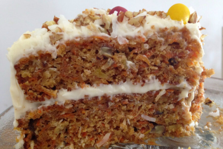 Carrot cake with cream cheese frosting - CSMonitor.com