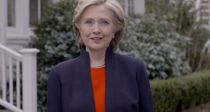 Hillary Clinton makes it official: 'I'm hitting the road to earn your vote.'