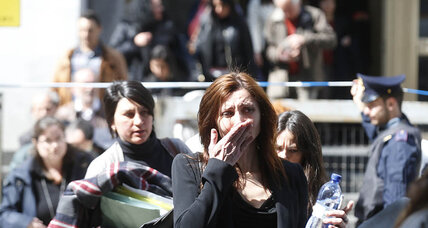 Alleged gunman captured after killing three at Milan courthouse