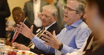 Do Hillary and Jeb have an 'unfavorable' problem? Yes, but in different ways. (+video)