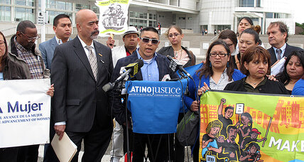 New York Suffolk County police targeted Latinos, claims lawsuit