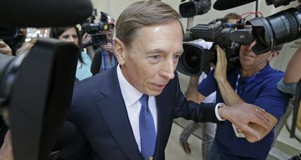 An inglorious postscript to the career of Gen. David Petraeus