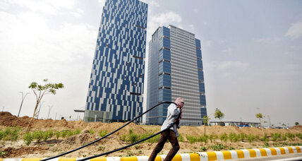 India builds its first 'smart' city