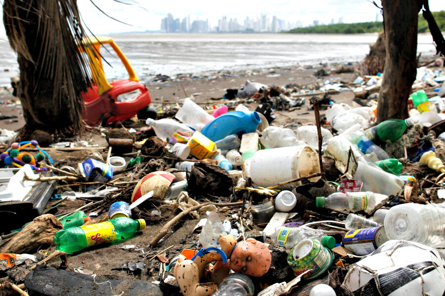 Some Adidas products to be made of plastic debris from oceans