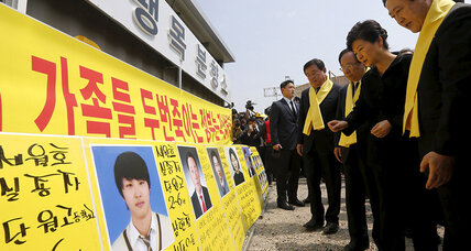 As South Korea mourns Sewol victims, president vows to raise ferry (+video)