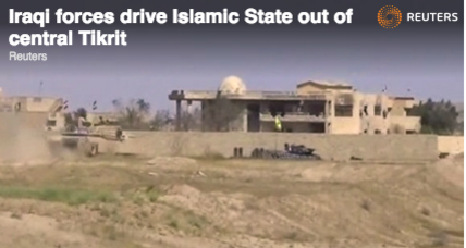Iraqi forces declare victory over ISIS in Tikrit