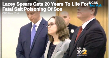 Mom gets 20 years for fatally poisoning her 5-year-old with salt