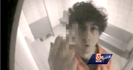Obscene photo of Tsarnaev at center of prosecution's case released