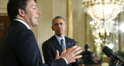 Obama, Renzi to work together on Libya threats