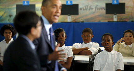 Obama launches e-book initiative: Will kids in need be able to access them?