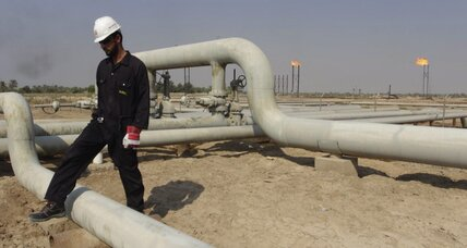 Low oil prices limit Iraq's output growth