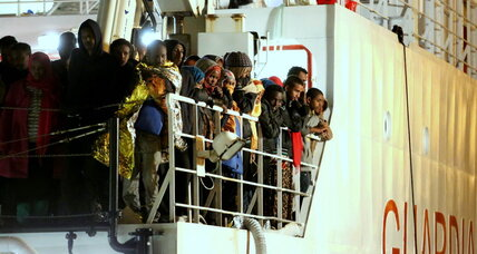 Europe's urgent task of saving migrants