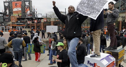 Why the peaceful protest of Freddie Gray's death turned violent