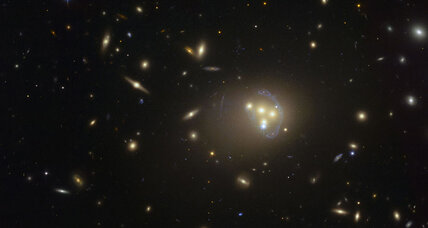 Galactic collisions rattle current theories of dark matter