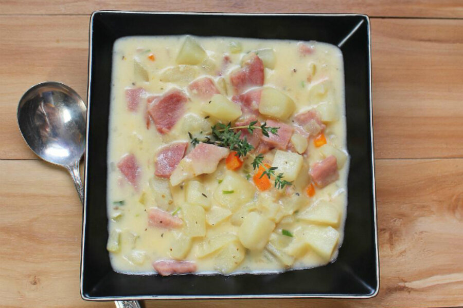 Ham and potato chowder - CSMonitor.com