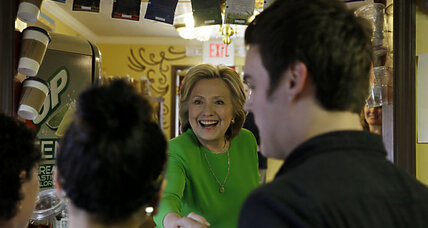 What Hillary Clinton's Chipotle stop says about her campaign (+video)