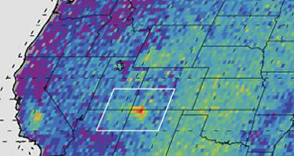Scientists investigate mysterious methane bloom over US Southwest (+video)